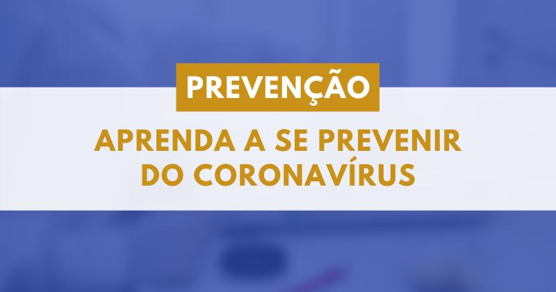 [Prevenção ao Covid-19]